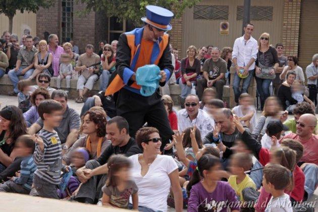 Montgai Màgic, Fira de Màgia al carrer (Foto: Ajuntament de Montgai)