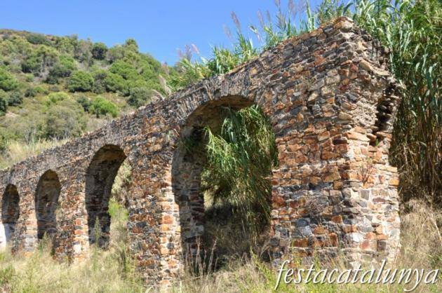 Pineda de Mar - Aqüeducte romà de can Clua