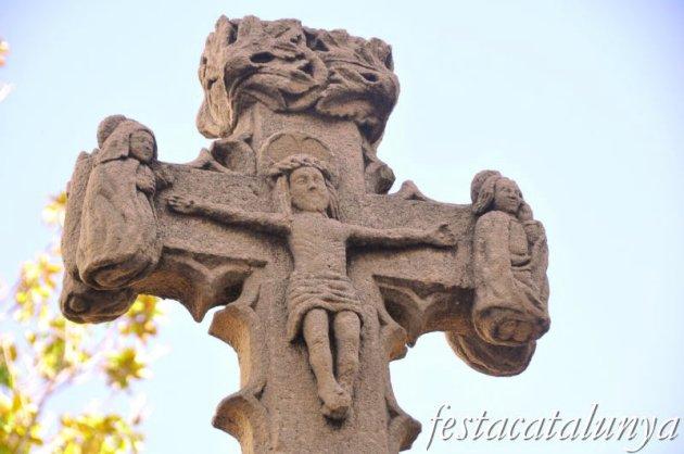 Pineda de Mar - Creu de terme de can Qiuintana