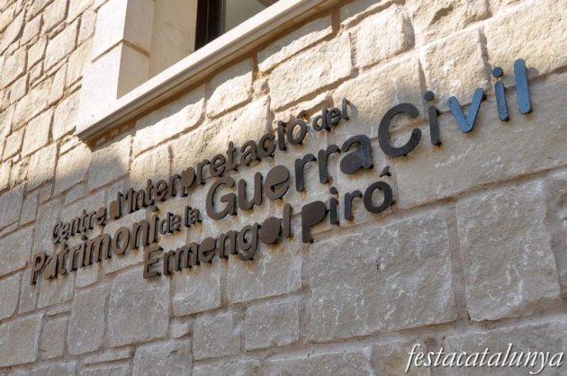 Alcoletge - Centre d'Interpretació de la guerra civil Ermengol Piró
