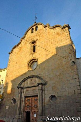 Sanaüja - Església parroquial de Santa Maria
