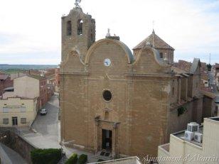 Alcarràs - Esglèsia (Foto: Ajuntament d'Alcarràs)