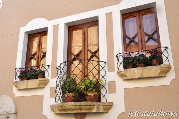 Pallaresos, Els - Nucli antic (Casa d'Andreu Fortuny)