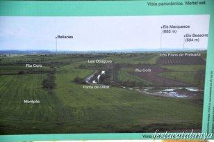 Preixana - Vistes panoràmiques de l'espai natural protegit secans de Belianes-Preixana des del tossal de la vila