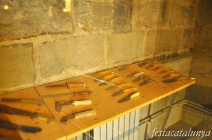 Solsona - Reproducció d'un taller ganiveter