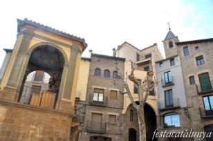 Solsona - Plaça de Sant Joan (Capella de Sant Joan i Font Major)
