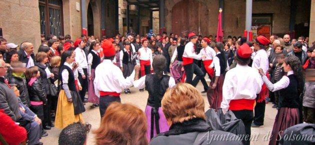 Solsona - Caramelles (Foto: Ajuntament de Solsona)