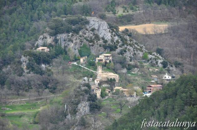 Coma i la Pedra, La - Vistes panoràmiques des de Sant Cristòfor de Pasqüets