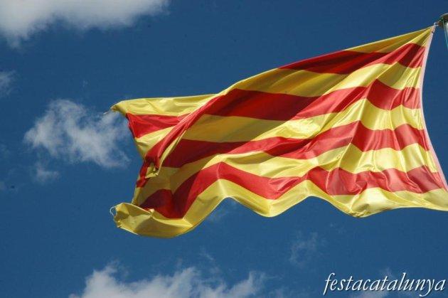 Òdena - Senyera de la Diada Nacional de Catalunya