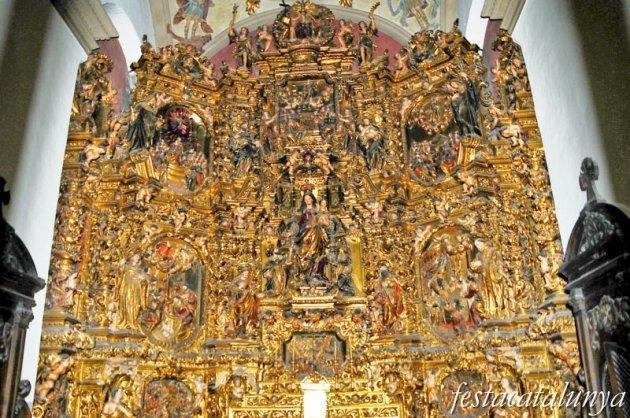 Olot - Església parroquial de Sant Esteve (Retaule del Roser)