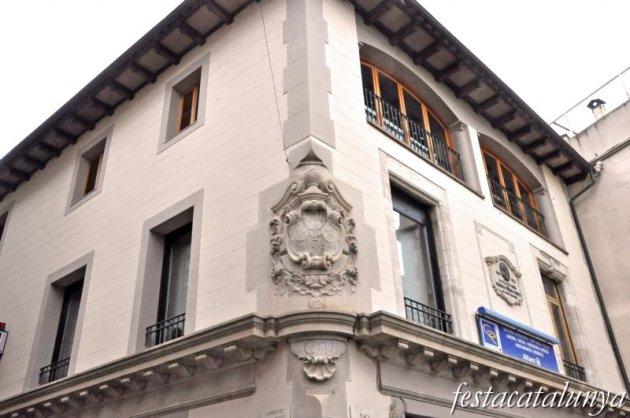 Moià - Edifici de la Caixa de Pensions