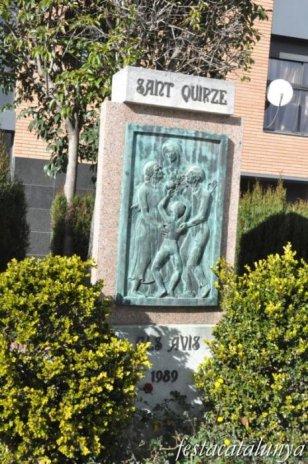 Sant Quirze del Vallès - Nucli antic (Monument als Avis)