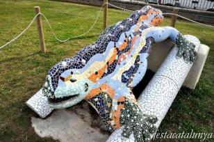 Sant Quirze del Vallès - Parc de les Morisques (Reproducció Drac Parc Güell)