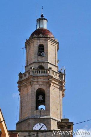 Borges Blanques, Les - Església parroquial de l'Assumpció
