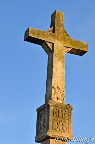 Juneda - Creu de terme