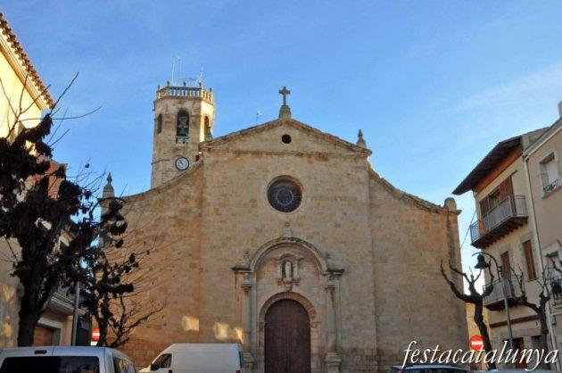 Juneda - Església parroquial de la Transfiguració del Senyor