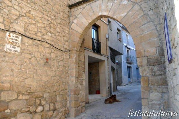 Juneda - Portal de Lamarca o antic portal d'Arbeca