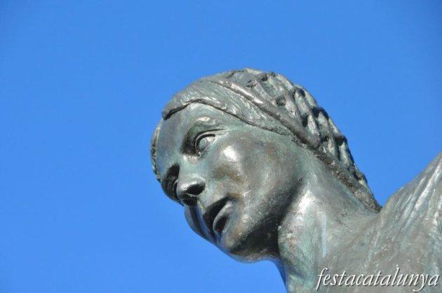 Fulleda - Monument a Agustina d'Aragó