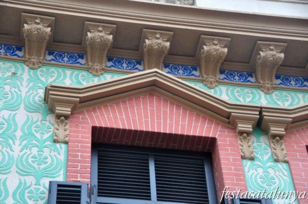 Canet de Mar - Carrer Val (Casa Yglesias)