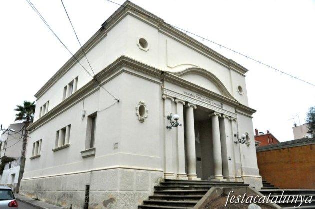 Canet de Mar - Passeig de la Misericòrdia(Biblioteca Pere Gual i Pujadas)