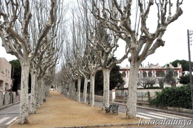 Canet de Mar - Passeig de la Misericòrdia (Can Carbonell)