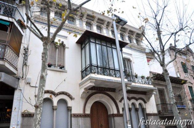 Canet de Mar - Can Serra o Casa Serra Pujades