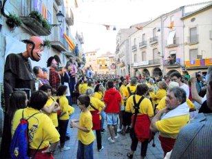 Borges Blanques, Les - Trobada de Gegants a la Festa Major (Foto: Ajuntament de les Borges Blanques)