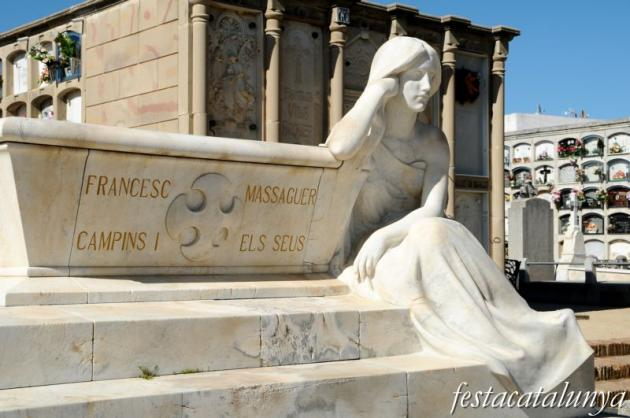 Arenys de Mar - Hipogeu de Francesc Masseguer i Campins