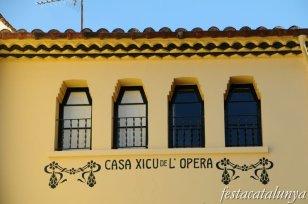 Arenys de Mar - Can Xicu de l'Òpera