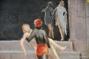 Caldes de Malavella - Casa Rosa o Casa Estapé (Quadre d'Antoni Utrillo Els Banys)