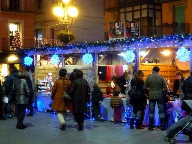 Olot - Fira del Pessebre (Foto: Institut Municipal de Promoció de la Ciutat d'Olot)