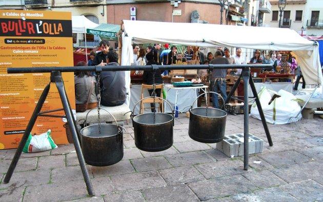 Caldes de Montbui - Mercat de l�Olla i la Caldera (Foto: Ajuntament de Caldes de Montbui)
