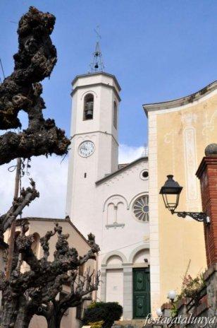 Caldes d'Estrac - Església parroquial de Santa Maria