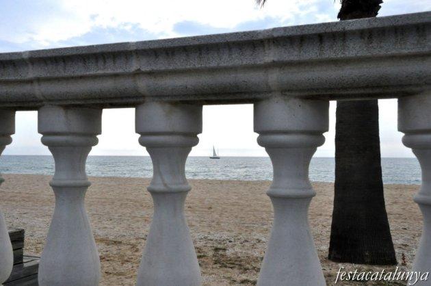 Caldes d'Estrac - Platges