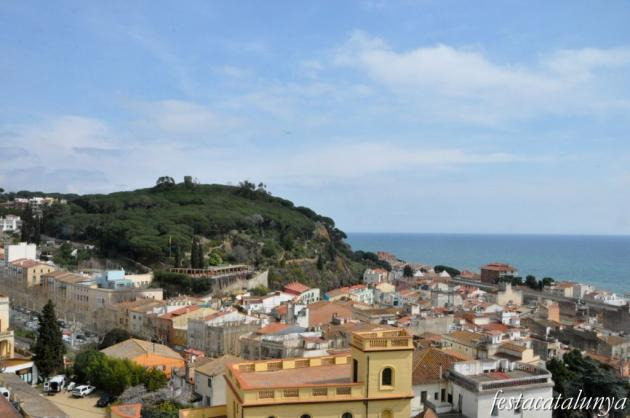 Caldes d'Estrac - Torres de guaita i defensa (Torre dels Encantas a l'Ametlla de Mar)