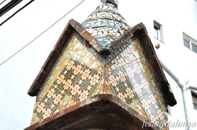 Sant Andreu de Llavaneres - Altres empremtes modernistes i noucentistes (Tanca del C/ del Munt)