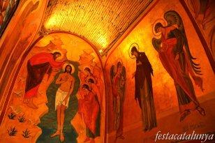 Sant Pere de Vilamajor - Església de Sant Pere (Murals del Baptisteri de Raül Galusca)