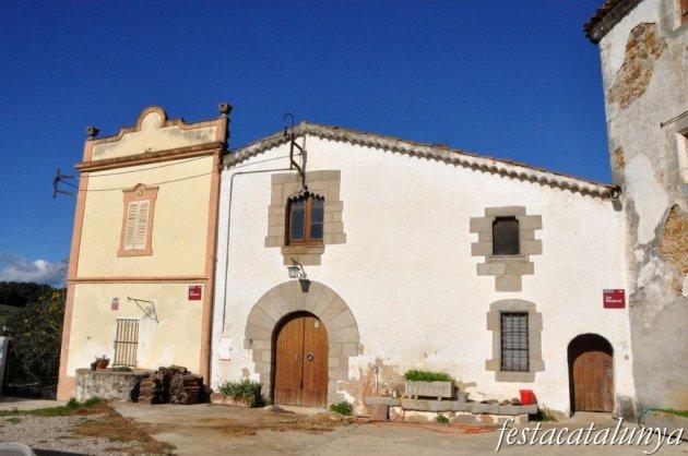 Llinars del Vallès - Sant Joan Sanata (Cal Margenat, a l'entorn de la rectoria)