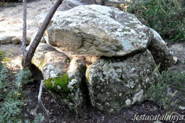 Roca del Vallès, La - Dolmen de Céllecs o Cabana del Moro