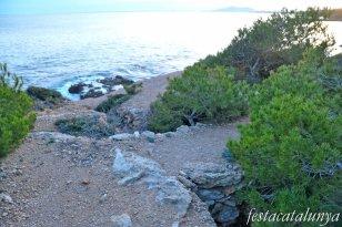 Ametlla de Mar, L' - Fortificacions de la guerra civil (Bateria de la costa)