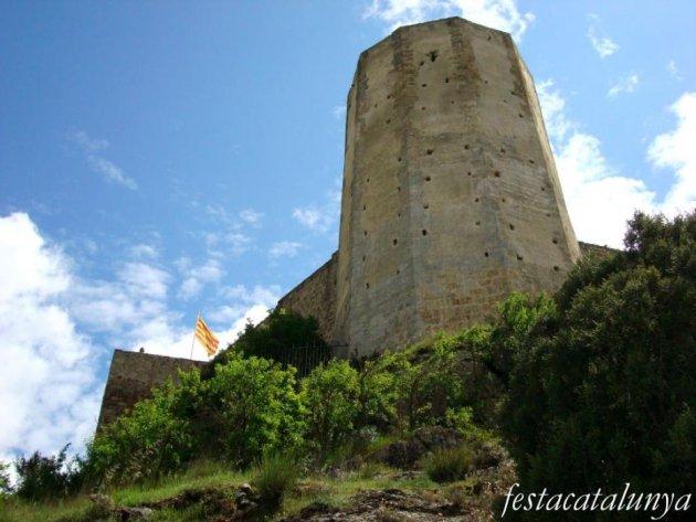 Pobla de Claramunt, La - Castell de Claramunt (Foto: Pep Mas)