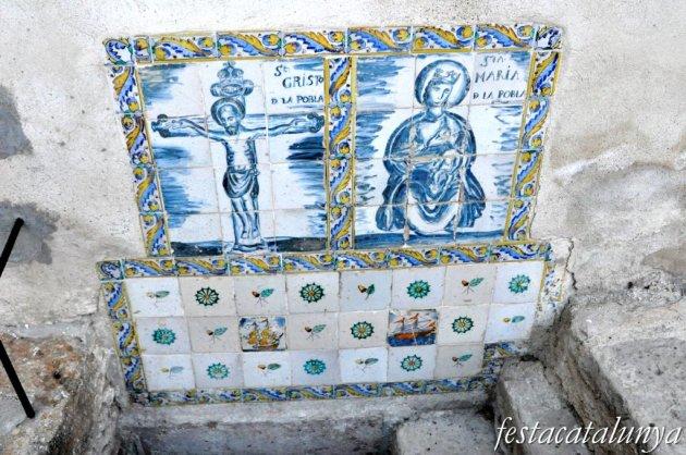 Pobla de Claramunt, La - Les Figueres (Font del Sant Crist i de Santa Maria)