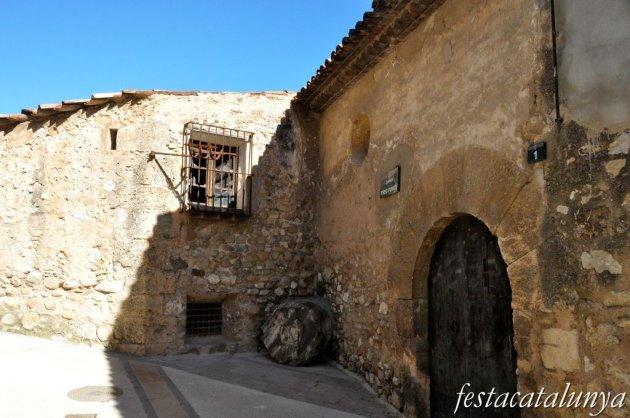 Pobla de Claramunt, La - Nucli antic (Clau de volta)