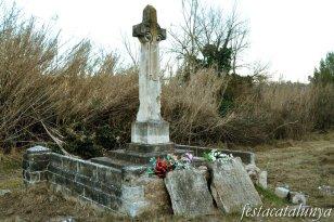 Pobla de Claramunt, La - La Creu dels divuit