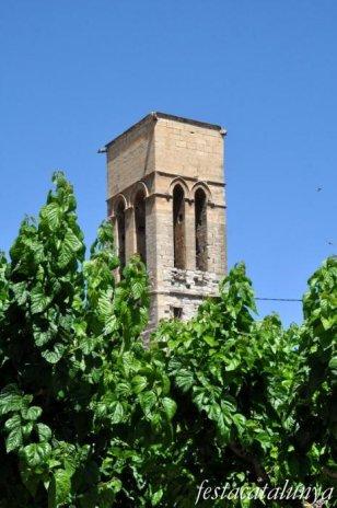 Vilagrassa - Campanar de l'església de Santa Maria