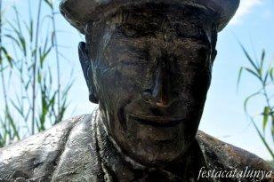 Bigues i Riells - Monument a Josep Pla (Sant Miquel del Fai)