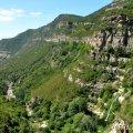 Vistes sobre la vall del Tenes des de Sant Miquel del Fai ***