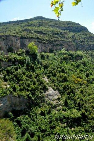 Bigues i Riells - Vistes sobre la vall del Tenes (Sant Miquel del Fai)