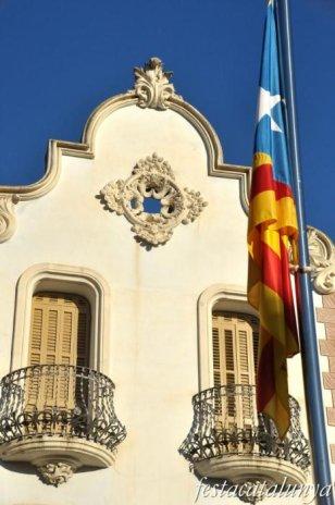 Cardedeu - Casa Noguera o Casa Anglada (Plaça de Sant Joan)