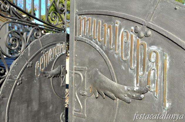Cardedeu - Porta principal (Cementiri municipal)